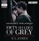 E L James, Merete Brettschneider - Fifty Shades of Grey - Geheimes Verlangen; ., 2 Audio-CD, (Hörbuch)