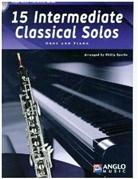 Philip Sparke - 15 Intermediate Classical Solos, für Oboe + Klavier, m. Audio-CD