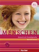 Sabine Schlüter - Menschen - Deutsch als Fremdsprache - A1: Berufstrainer, m. Audio-CD