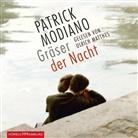 Patrick Modiano, Ulrich Matthes - Gräser der Nacht, 4 Audio-CDs (Hörbuch)