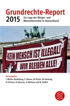 Heiner Fechner, Rolf Gössner, Martin Heiming, Til Müller-Heidelberg, Till Müller-Heidelberg, Holger Niehaus... - Grundrechte-Report 2015