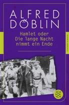 Alfred Döblin, Christin Althen, Christina Althen, Davies, Steffan Davies - Hamlet oder Die lange Nacht nimmt ein Ende