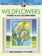 John Green - Creative Haven Wildflowers Stained Glass Coloring Book