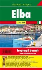 Freytag-Berndt und Artaria KG, Freytag-Bernd und Artaria KG - Freytag & Berndt Autokarte Elba, Island Pocket
