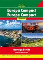 Freytag-Berndt und Artaria KG, Freytag-Bernd und Artaria KG - Freytag & Berndt Atlas Europa Compact. Freytag & Berndt Road Atlas Europe Compact