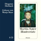 Martin Suter, Wanja Mues - Montecristo, 6 Audio-CD (Hörbuch)