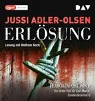 Jussi Adler-Olsen, Wolfgang Koch, Wolfram Koch - Erlösung, Audio-CD, (Audio book)