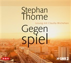 Stephan Thome, Claudia Michelsen - Gegenspiel, 8 Audio-CDs (Hörbuch)