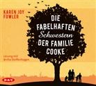Karen Joy Fowler, Britta Steffenhagen - Die fabelhaften Schwestern der Familie Cooke, 6 Audio-CDs (Hörbuch)