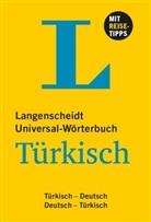 Langenscheidt-Redaktion - Universalwoerterbuch Deutsch-Tuerkisch, Deutsch-Tuerkisch