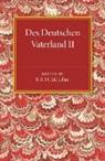 Georg Kamitsch, F. R. H. McLellan - Des Deutschen Vaterland: Volume 2