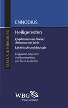 Ennodius, Ennodius, Magnus Felix Ennodius, Frank Ausbüttel, Frank M. Ausbüttel, Fran Ausbüttel (Dr.)... - Heiligenviten