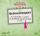 Alexandra Reinwarth - Das Glücksprojekt, 4 Audio-CDs (Hörbuch)