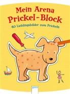 Corina Beurenmeister, Corina Beurenmeister - Mein Arena Prickel-Block - 40 Lieblingsbilder zum Prickeln
