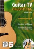 Reinhold Pomaska - Guitar-TV: Fingerpicking - Internationale Songs, m. DVD. Tl.2