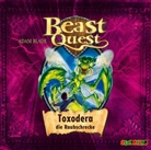 Adam Blade, Jona Mues - Beast Quest: Toxodera die Raubschrecke, 1 Audio-CD (Hörbuch)