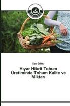 Esra Cebeci - H yar Hibrit Tohum Üretiminde Tohum Kalite ve Miktar