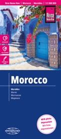 Collectif, Reise Know-How Verlag Peter Rump, Peter Rump Verlag, XXX - MAROC - 1/1.000.000