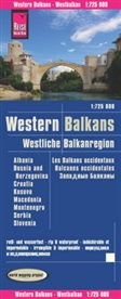 Reise Know-How Verlag Peter Rump, Peter Rump Verlag, Reise Know-How Verlag - Reise Know-How Landkarte Westliche Balkanregion / Western Balkans (1:725.000) : Albanien, Bosnien und Herzegowina, Kosovo, Kroatien, Mazedonien, Montenegro, Serbien, Slowenien