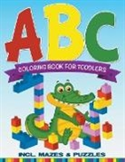 Speedy Publishing Llc - ABC Coloring Book For Toddlers incl. Mazes & Puzzles