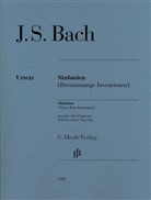 Johann Sebastian Bach, Ullrich Scheideler, Rudolf Steglich - Bach, Johann Sebastian - Sinfonien (Dreistimmige Inventionen)