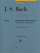 Johann Sebastian Bach, Sylvia Hewig-Tröscher - Bach, Johann Sebastian - Am Klavier - 16 bekannte Originalstücke