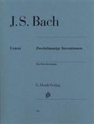 Johann Sebastian Bach, Ullrich Scheideler - Bach, Johann Sebastian - Zweistimmige Inventionen