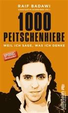 Badawi, Raif Badawi, Schreiber, Constanti Schreiber, Constantin Schreiber - 1000 Peitschenhiebe