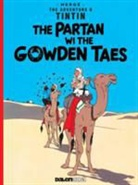 Herge - Tintin: The Partan Wi the Gowden (Scots)
