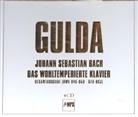 Johann Sebastian Bach, Friedrich Gulda - Das Wohltemperierte Klavier, 4 Audio-CDs (Hörbuch)