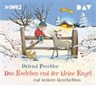 Otfried Preußler, Ernst Konarek, Heike Makatsch, u.v.a. - Das Eselchen und der kleine Engel und eine weitere Geschichte, 1 Audio-CD (Hörbuch)