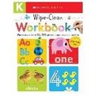 Inc. Scholastic, Scholastic Inc. (COR) - Wipe Clean Workbooks, Kindergarten
