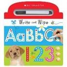 Inc. Scholastic, Scholastic Inc. (COR) - Write and Wipe ABC 123