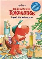 Ingo Siegner, Ingo Siegner - Der kleine Drache Kokosnuss bastelt für Weihnachten, m. Audio-CD