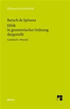 Baruch de Spinoza, Benedictus (Baruch) de Spinoza, Wolfgan Bartuschat, Wolfgang Bartuschat - Sämtliche Werke - 2: Ethik in geometrischer Ordnung dargestellt