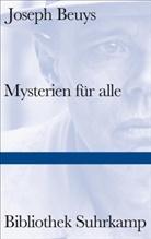 Joseph Beuys, Steffe Popp, Steffen Popp - Mysterien für alle