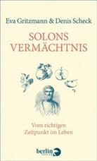 Ev Gritzmann, Eva Gritzmann, Denis Scheck - Solons Vermächtnis
