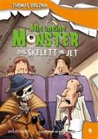 Thomas Brezina, Thomas C Brezina, Thomas C. Brezina, Pablo Tambuscio - Alle meine Monster, Das Skelett im Jet