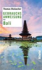 Thomas Blubacher - Gebrauchsanweisung für Bali