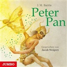 James Matthew Barrie, Jacob Weigert - Peter Pan, 3 Audio-CDs (Hörbuch)