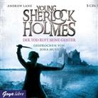 Andrew Lane, Jona Mues - Young Sherlock Holmes - Der Tod ruft seine Geister, Audio-CD (Hörbuch)