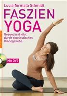 Lucia Nirmala Schmidt - Faszien-Yoga, m. DVD