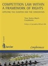 Collectif, Thea Harles-Walch, Harles-Walch Thea/ R, Jacqueline Riffault-Silk, Jacqueline Riffault-Silk, Théa Harles-Walch - Competition law within a framework of rights : applying the Charter and the Convention