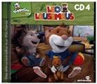 Leo Lausemaus. Tl.4, 1 Audio-CD (Hörbuch)
