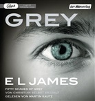 E L James, E. L. James, Martin Kautz - Grey - Fifty Shades of Grey von Christian selbst erzählt, 2 MP3-CDs (Hörbuch)