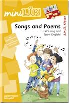 Heinz Vogel - mini LÜK, Übungshefte: Songs and poems