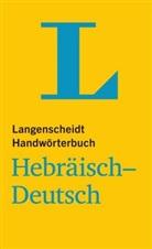 Redaktio Langenscheidt - Langenscheidt Handwörterbuch Hebräisch-Deutsch