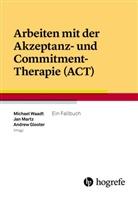 Andrew Gloster, Andrew Gloster u a, Ja Martz, Jan Martz, Edeltraud Schönfeldt, Michael Waadt - Arbeiten mit der Akzeptanz- und Commitment-Therapie (ACT)