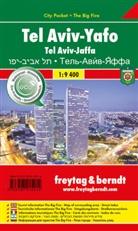 Freytag-Berndt und Artaria KG, Freytag-Bernd und Artaria KG - Freytag & Berndt Stadtplan Tel Aviv - Yaffo, City Pocket + The Big Five. Tel Aviv - Jaffa