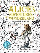 Lewis Carroll, John Tenniel - Alice's Adventures in Wonderland - A Colouring Book
